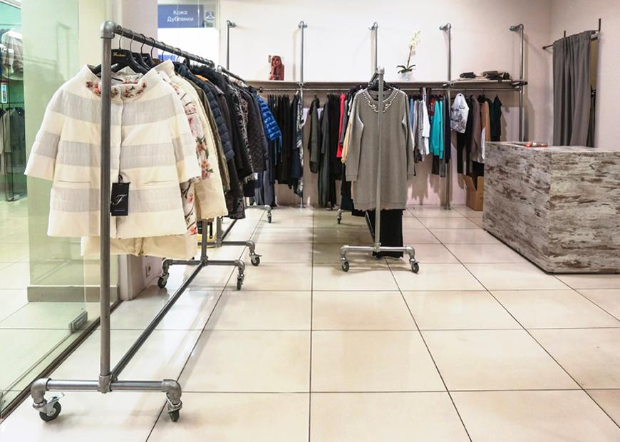 торговое оборудование для магазина одежды фото мебели других товаров